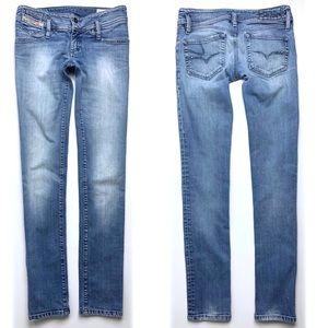 Diesel Matic Stretch Slim Tapered Skinny Jeans